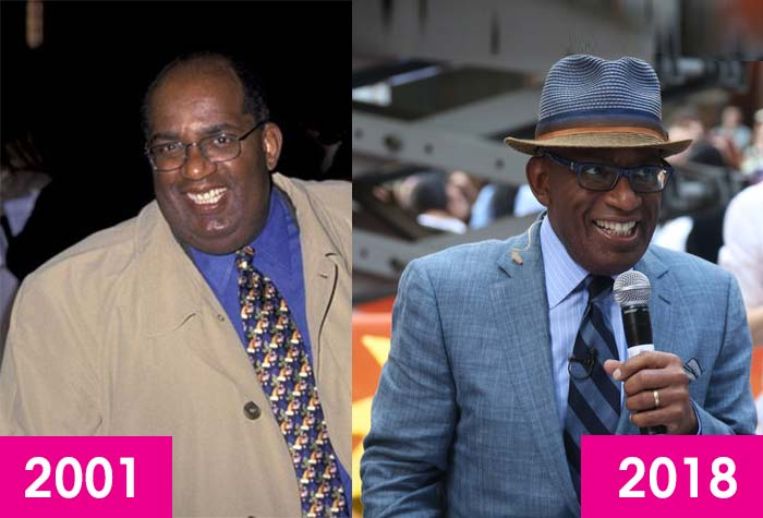 Al Roker Weight loss surgery, before and after, then and now, fat, 2018