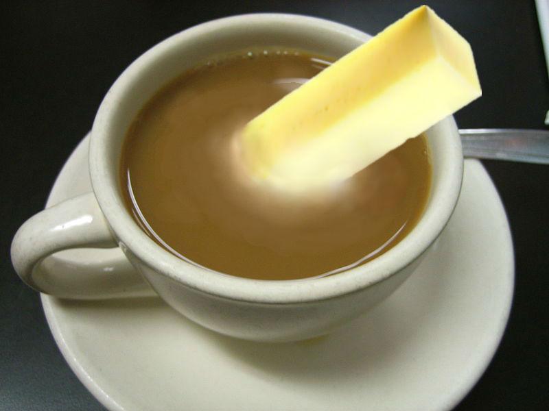 Bulletproof butter coffee ingredients