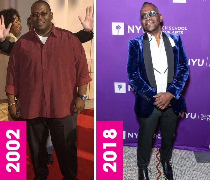 Randy Jackson Weight loss surgery, gastric bypass, before and after, then and now, 2018, 2002, fat, skinny